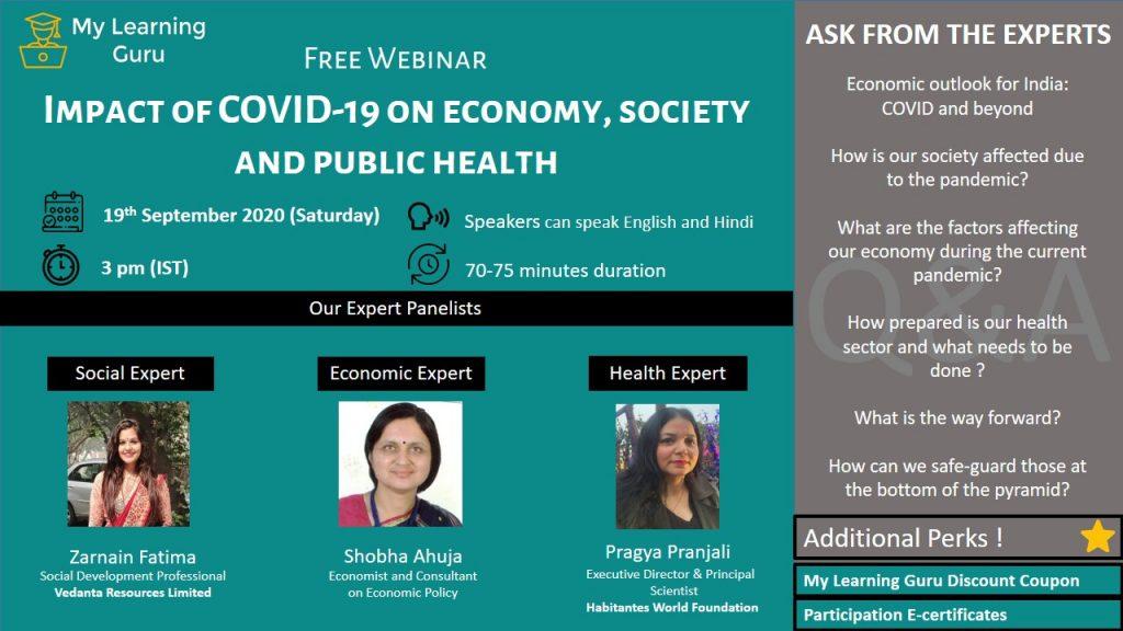 free webinar on covid